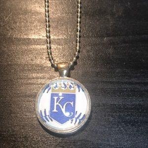 """Other - ⭐️bundle only⭐️KC Royals necklace 22"""""""